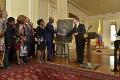 El único presidente afro de Colombia no tenía cuadro en el Palacio de Nariño