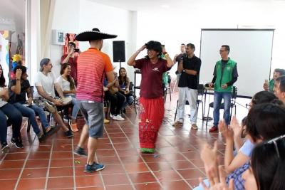 Estudiantes extranjeros visitaron el municipio