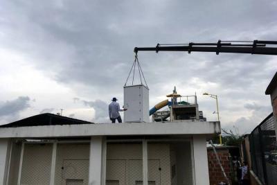 Instalan estación para medir calidad del aire