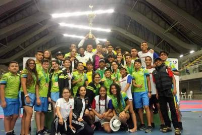 Santander se destacó en el Nacional de Taekwondo