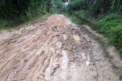 Vías rurales de Socorro requieren intervención urgente