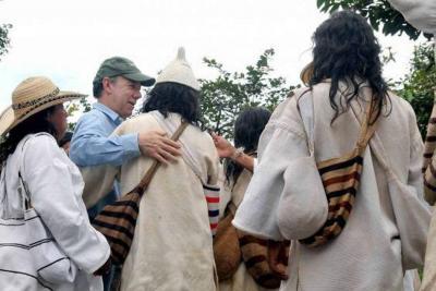 Santos firmará decreto para protección de la 'Línea negra'
