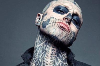 Hallan sin vida al famoso modelo 'Zombie Boy'