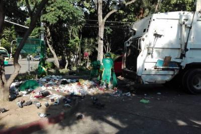 Camiones recolectores de residuos sólidos tendrán restricción para movilizarse