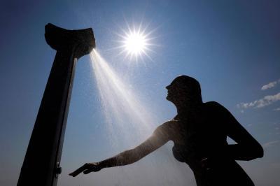 Ola de calor en Europa  es un riesgo para la vida