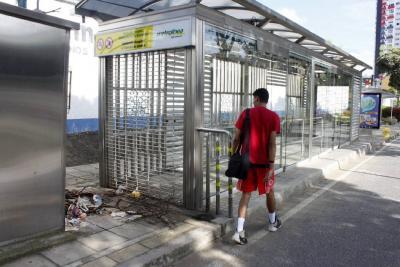 A 'medias' funcionan las seis mini estaciones de Metrolínea en Bucaramanga