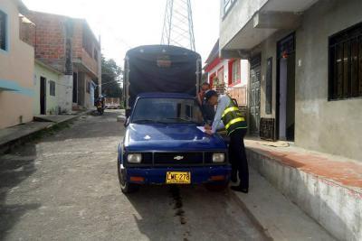 Autoridades desarrollan campaña de seguridad vial