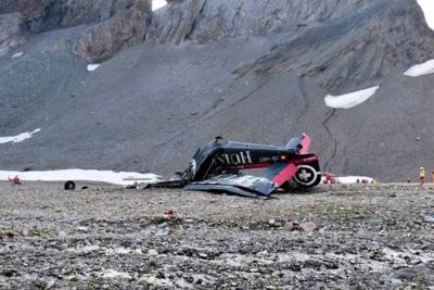 Accidente aéreo en Suiza deja un saldo de 20 muertos
