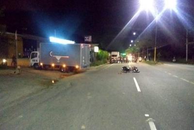 Accidentes en moto dejaron a dos personas fallecidas en Santander