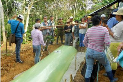Biogás y abono de cachaza de caña ganan premio ambiental