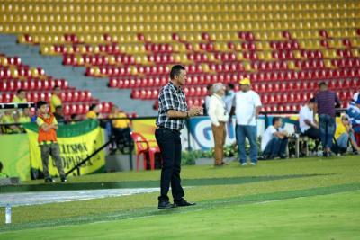 """""""Los jugadores están dolidos y tenemos que levantarnos"""": Técnico del Atlético Bucaramanga"""