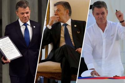 Juan Manuel Santos termina su Gobierno con una aprobación del 22%