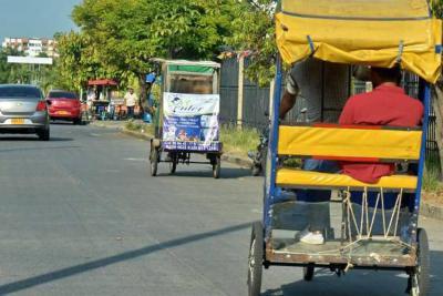 Mintransporte legaliza el servicio 'bicitaxis' en Colombia