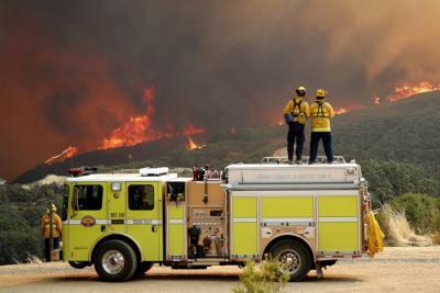 California, Estados Unidos, sufre el peor incendio de su historia