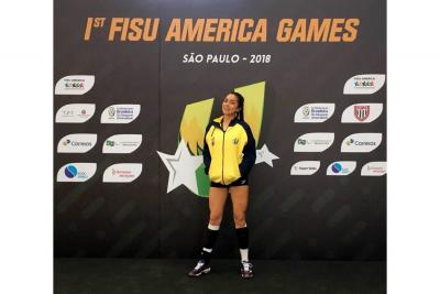 Angie Gabriela Ayala Ferreira, lista para la Copa Panamericana de Voleibol