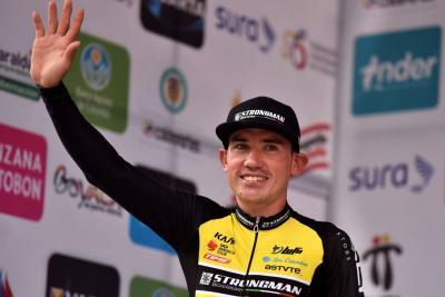 Santandereano Aristóbulo Cala fue octavo en la tercera etapa de la Vuelta a Colombia