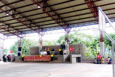 Inauguraron CID y justas deportivas en Pinchote
