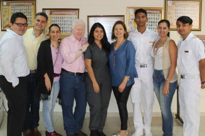 Facultad de Ciencias de la Salud UNAB inicia intervención interdisciplinaria en el Colegio Campo Hermoso