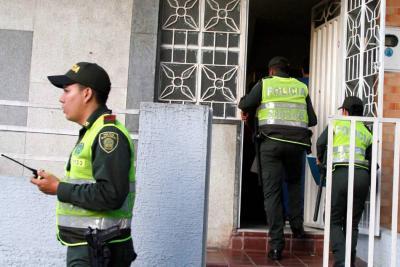Hombres armados amarraron y robaron a siete personas en una casa en Bucaramanga