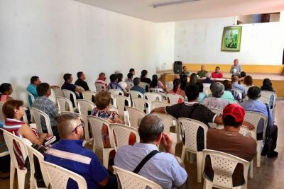 Asojuntas hizo peticiones a autoridades socorranas