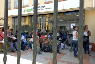 En un día hallaron cerca de 100 venezolanos irregulares en Bucaramanga