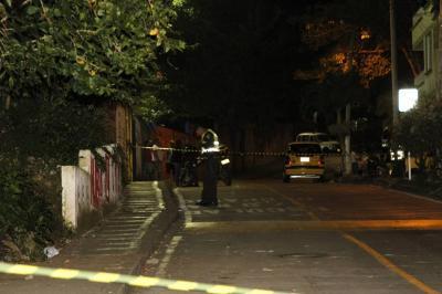 Hombre resultó herido tras atentado sicarial en Girón