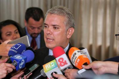 Duque exige al Eln la liberación de los secuestrados para avanzar en la negociación