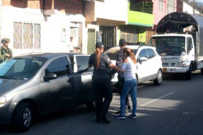 Atacan el microtráfico en el barrio Las Marías, en Girón
