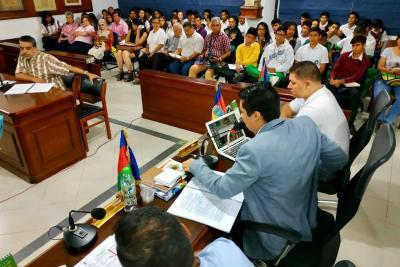 Concejo Municipal estudia estatuto tributario de Socorro