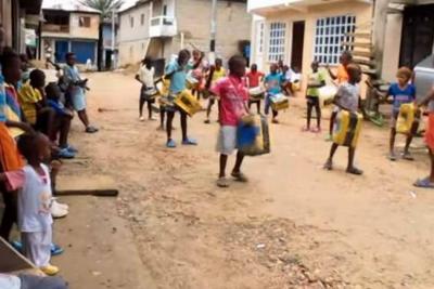 La banda marcial de niños que conmueve a Colombia