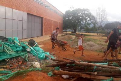 Denuncian en Bucaramanga falta de cuidado a espacios deportivos de la Comuna 17