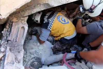 Aumentan a 39 los muertos en una explosión en el noroeste de Siria