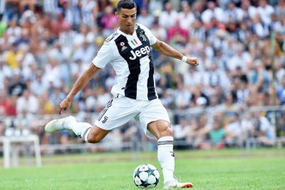Cristiano Ronaldo debutó con Juventus y marcó su primer gol
