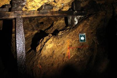 En 2017, producción de oro  disminuyó 33,5% y de carbón 1,1%