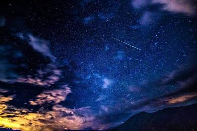 Fotografían un meteoro cruzando el cielo del Cañón del Chicamocha en Santander