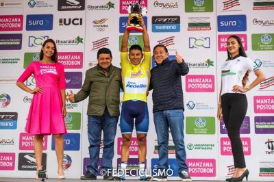 La Vuelta a Colombia llega hoy a Santander