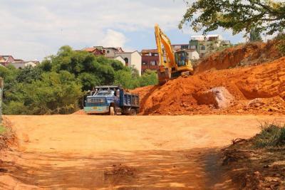 Obras de mitigación ya se ejecutan en el Globo I de Altos de Bellavista