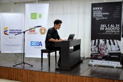 Socorro vivió el Festival de Piano UIS