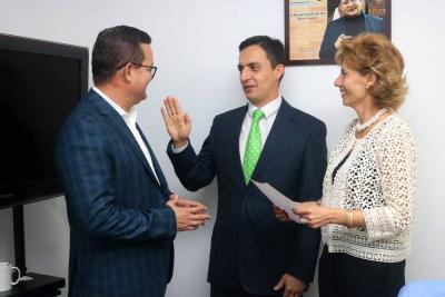 Vicerrector Santanderes de Uniminuto se posesionó