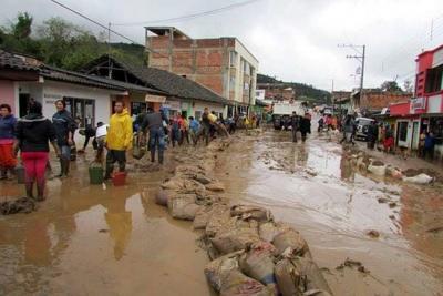 Al menos 54.000 damnificados por lluvias en 6 departamentos