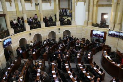 Radican en el Congreso proyecto de ley de reforma tributaria