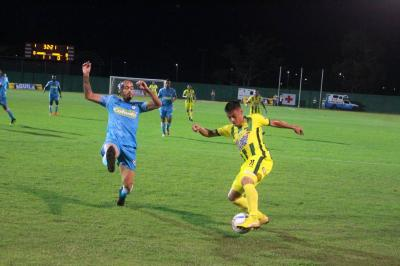 En el minuto 90 el Atlético Bucaramanga hizo su única anotación.