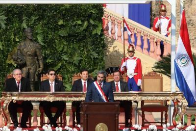 Abdo Benítez se entrevistó con algunos de los mandatarios que estuvieron en Asunción, incluidos el presidente de Colombia, Iván Duque, y de Guatemala, Jimmy Morales.