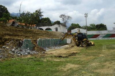 Inició la remodelación de Estadio de Villa Concha