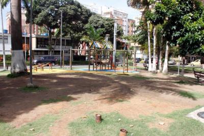 Parque Las Palmas presenta nuevo deterioro en su prado
