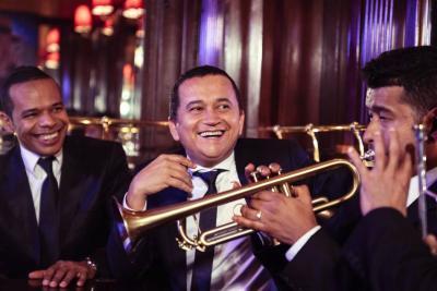 Yuri Buenaventura llegó al Festival Petronio Álvarez
