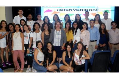UDI da la bienvenida a 34 estudiantes extranjeros