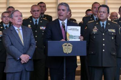 Duque presentó 10 iniciativas para combatir la criminalidad