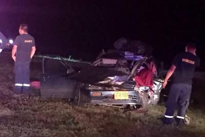 Siniestro dejó dos personas fallecidas