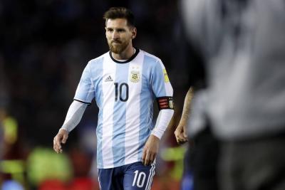Argentina enfrentará a Colombia sin Messi